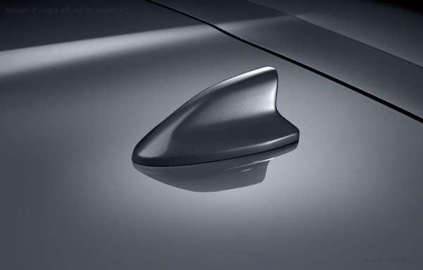 Haifisch-Antenne Gunmetal grey Nissan Micra K14