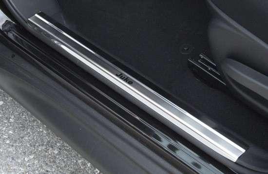 Einstiegsleistenset 4-tlg. Edelstahl Nissan Juke