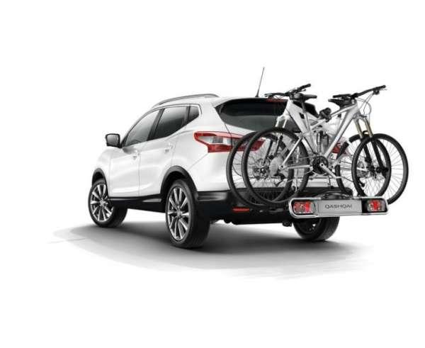 Menabo Fahrradträger Stand Up 2 für Nissan Qashqai II Typ J11-2 Fahrräder  NEU