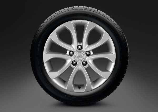 """Leichtmetallfelge 17"""" Atsugi Grey Nissan Juke F15"""