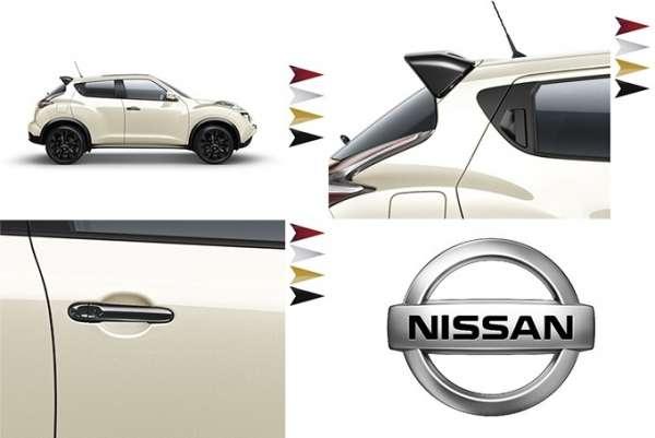 Dynamik Paket London White Nissan Juke F15 2014/05-