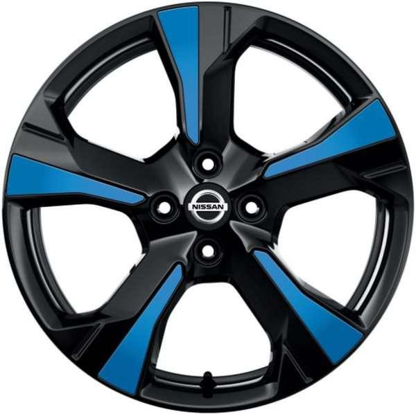 Einsätze für Felge Power Blue Nissan Micra K14