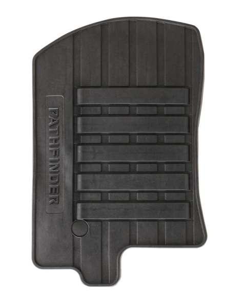 Gummi-Fußmatten Nissan Pathfinder R51 2010/01-