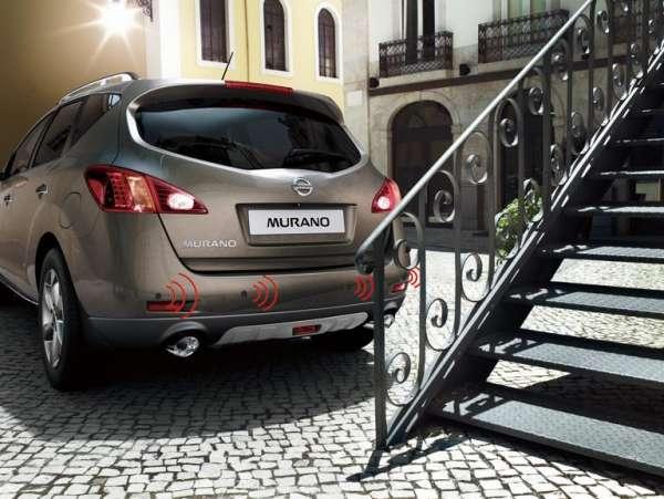 NISSAN Einparkhilfe, hinten, schwarz Nissan Murano Z51