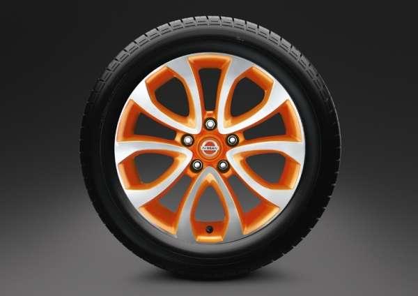 """Leichtmetallfelge 17"""" Oppama Orange Nissan Juke F15"""