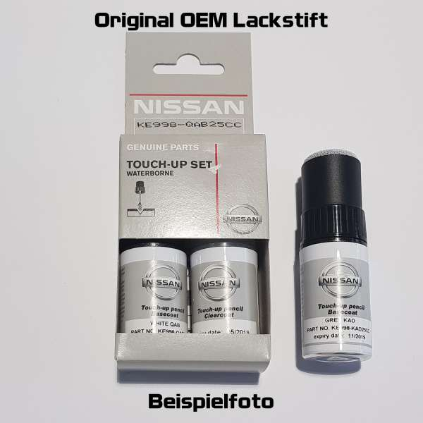Original Nissan/Infiniti Lackstift QAB Pearl White