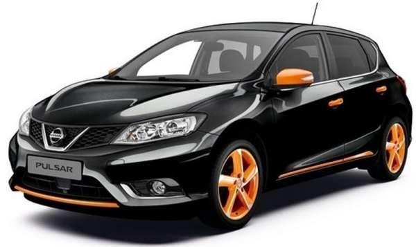 Premium-Paket Orange Racing Nissan Pulsar C13