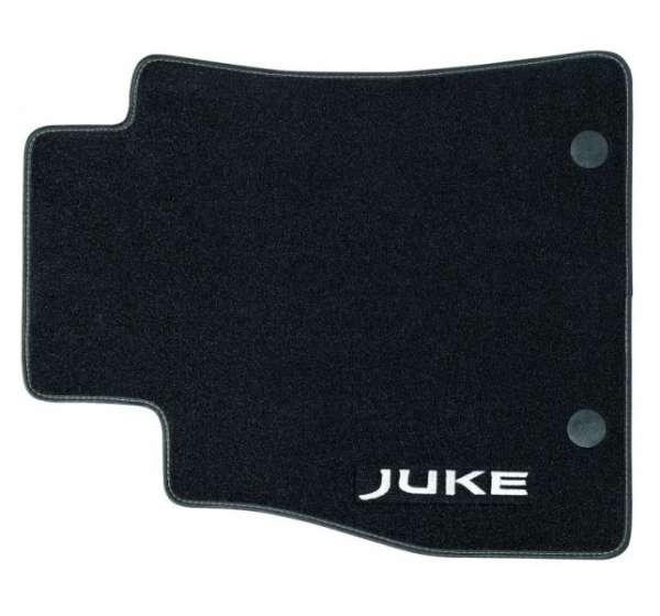 """Textil-Fußmatten """"Luxus"""" London White Nissan Juke F15"""