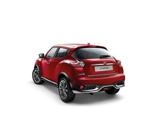 Heckklappen-Kantenschutz Beijing Chrome Nissan Juke F15