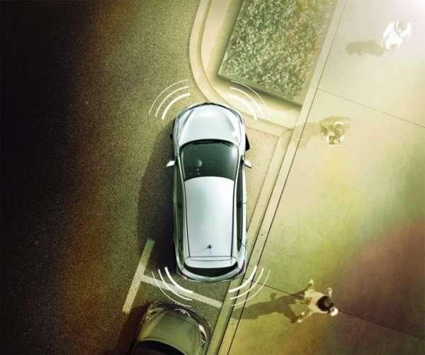 NISSAN Einparkhilfe, vorne, schwarz Nissan Juke F15 2014/06-