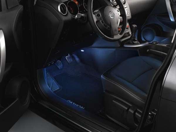 Ambiente-Beleuchtung Nissan Qashqai J10