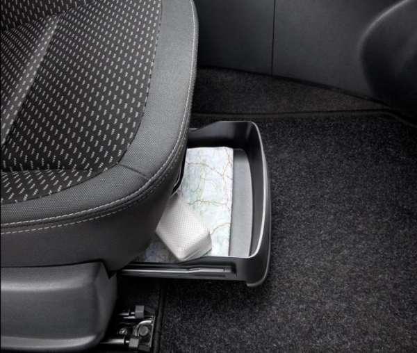 Ablage unter dem Beifahrersitz Nissan Qashqai J10
