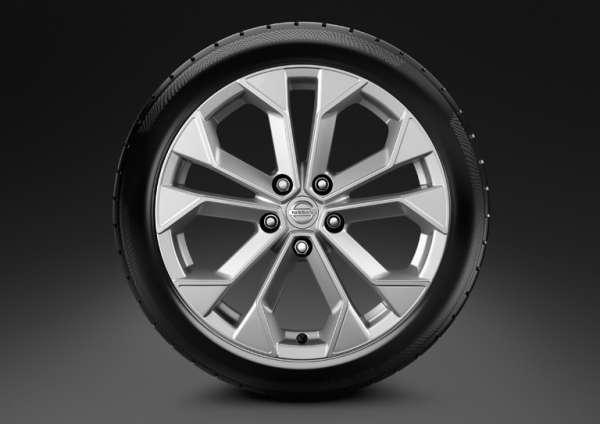 """Leichtmetallfelge 18"""" Atsugi Grey Nissan Juke F15"""