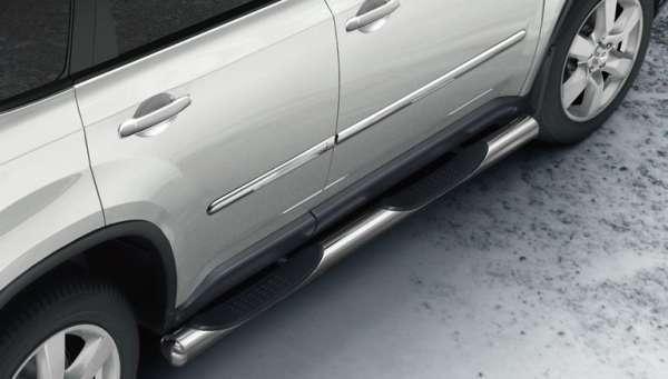 Seitenschutzleisten Nissan X-Trail T31 2010/07-