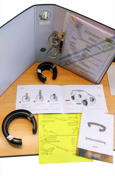 Fahrzeughöherlegungs-Set Infiniti QX30