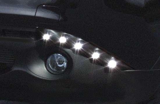 LED Tagfahrleuchtenset mit Positionsleuchte Nissan Juke