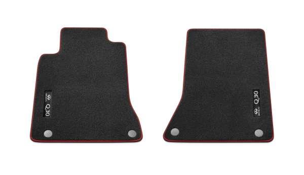 Textilfußmatten GT schwarz-rot Infiniti Q30 01/2016-