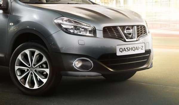 Schutzecken für Stoßfänger, vorne Nissan Qashqai J10 2010/01-
