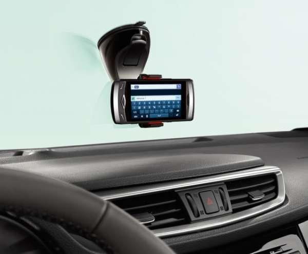 Smartphone Halter Nissan Leaf ZE1