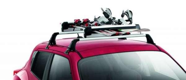 Ski-/Snowboard-Träger, verstellbar für bis zu 6 Paar Ski Nissan Juke F15