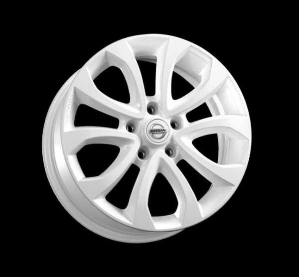 "Leichtmetallfelge 17"" Glossy White Nissan Juke F15 -2014/04"