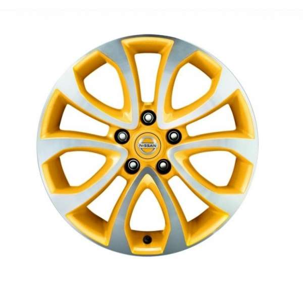 Leichtmetallfelgen, ATO, San Diego Yellow (BEAV) Nissan Juke F15