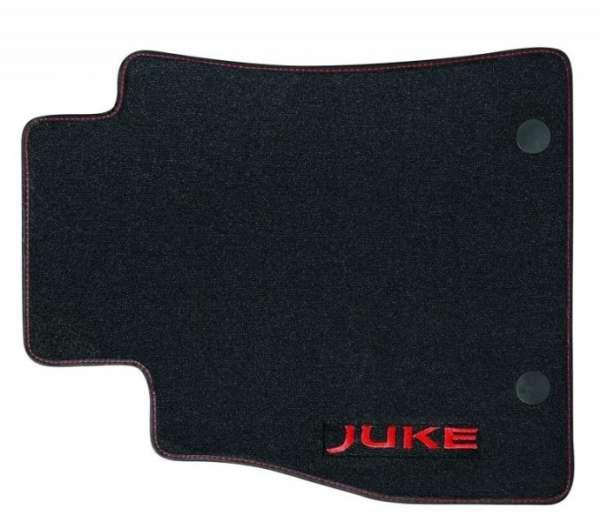 "Textil-Fußmatten ""Velours"" Detroit Red Nissan Juke F15 2012/11-"