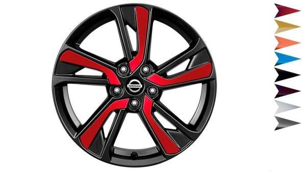 "Leichtmetallfelgen Satz 18"" Nissan Juke F15 2014/10-"