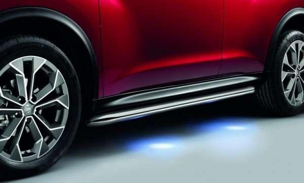 Schwellerrohre beleuchtet Nissan Juke F15 2014/05-