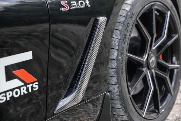 Carbon Kotflügelbelüftungskit Infiniti Q60 Coupe