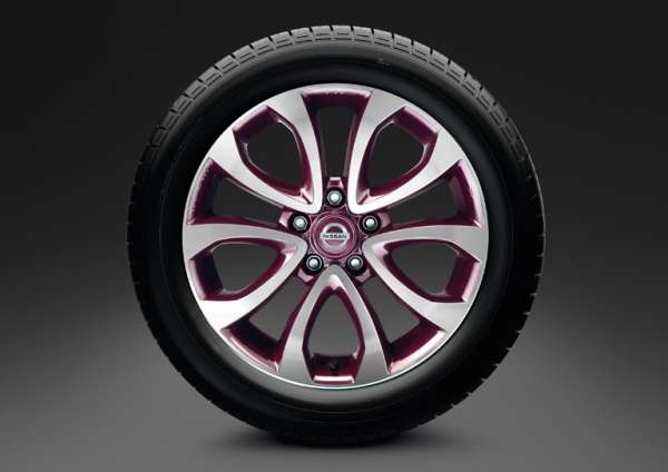 "Leichtmetallfelge 17"" Yokohama Purple Nissan Juke F15"