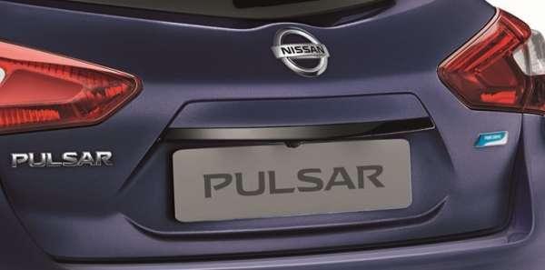 Heckklappengriff-Leiste Tokyo Black Nissan Pulsar C13