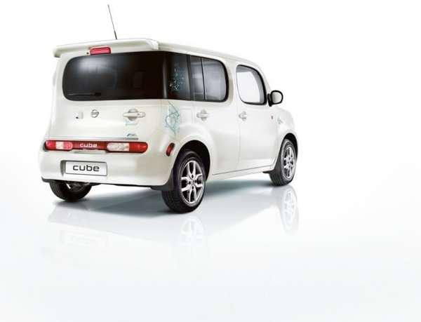 Schmutzfänger, hinten Nissan Cube Z12
