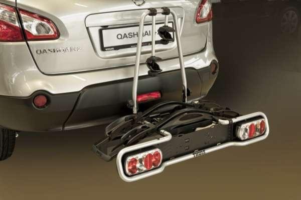 Fahrrad-Heckträger für 2 Räder, mit 13pol. E-Satz Nissan Cube Z12