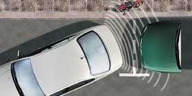 NISSAN Einparkhilfe, hinten, schwarz Nissan Navara D40