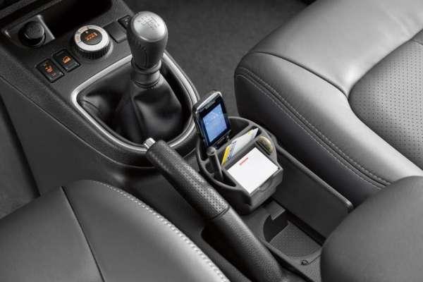 Mobiltelefonhalter für Getränkehalter Nissan Cube Z12