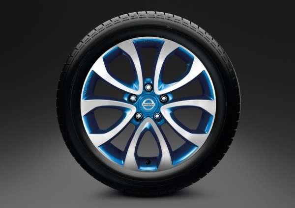 "Leichtmetallfelge 17"" Zama Blue Nissan Juke F15"