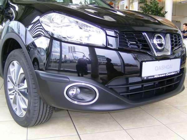 Stoßfängerschutzecken Nissan Qashqai J10 2010/01-