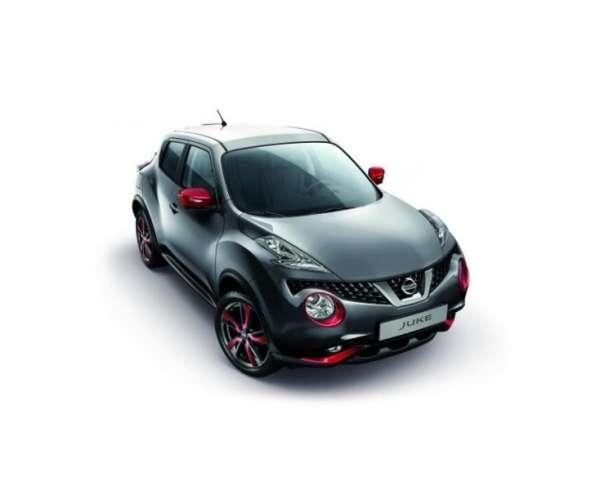 Scheinwerferblenden Detroit Red Nissan Juke F15 2014/05-