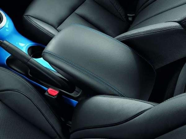 Armlehne vorne Leder - blaue Nähte Nissan Juke F15 -2018