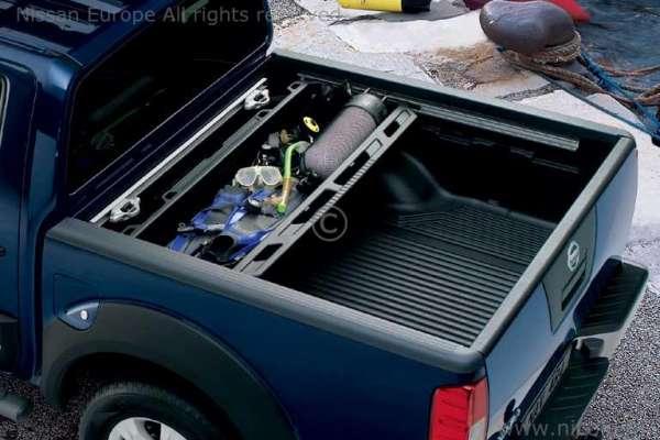 Heckklappen-Abdeckung mit Ladekantenschutz Nissan Navara D40