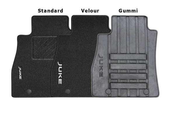 "Textil-Fußmatten ""Velours"" Nissan Juke F15 2012/11-"