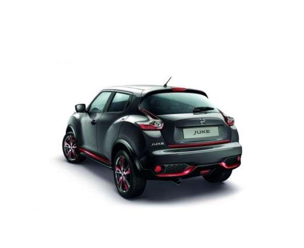 Heckklappen-Kantenschutz Detroit Red Nissan Juke F15 2014/05-