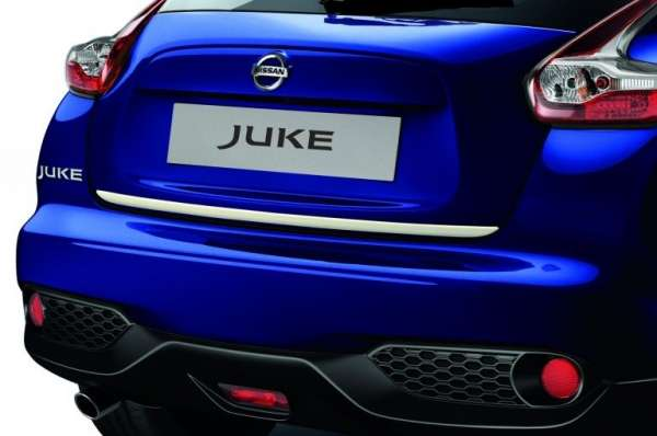 Heckklappen-Kantenschutz London White Nissan Juke F15 2014/05-