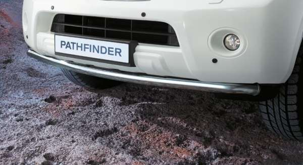 NISSAN Einparkhilfe, vorne, schwarz Nissan Pathfinder R51