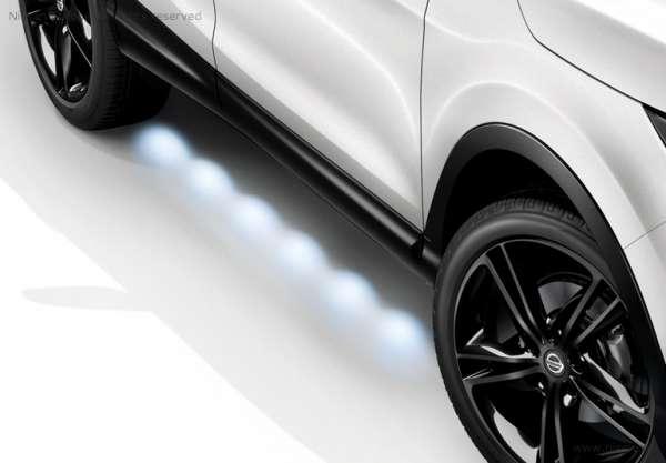 Einstiegleisten beleuchtet Nissan Qashqai J11 -2017/05