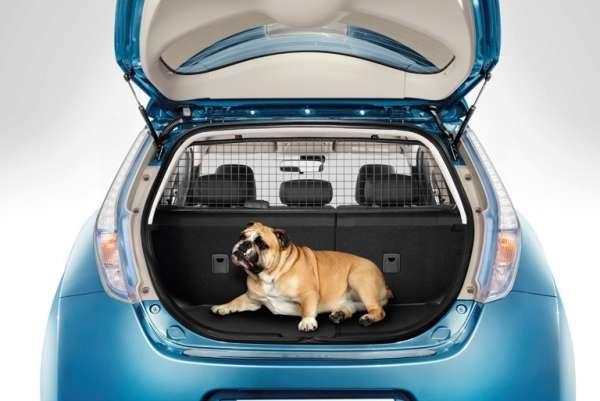 Gepäckraum-Trenngitter Nissan Leaf ZE0 2013/02-
