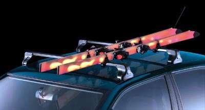 Ski-/Snowboard-Träger für bis zu 4 Paar Ski Nissan Juke F15