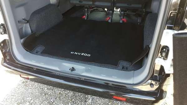 Textil-Kofferraummatte Nissan E-NV200 M20