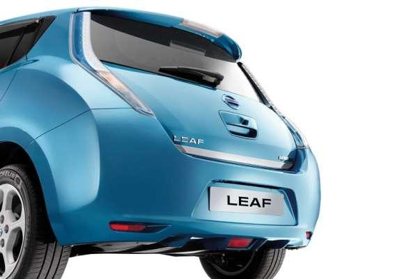 Heckklappen-Kantenschutz Nissan Leaf ZE0 2013/02-